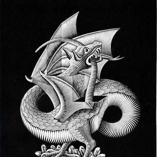 Dragones Exposición de ilustración en acuarela