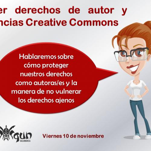 Taller derechos de autor y licencias Creative Commons