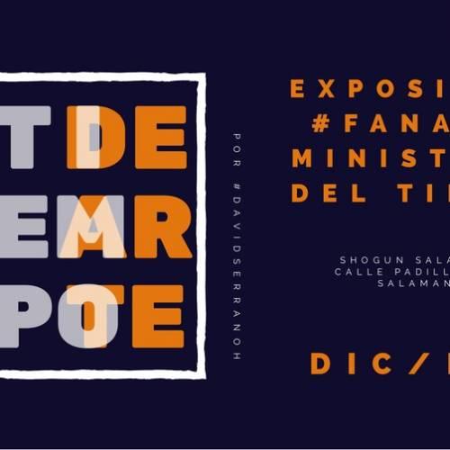 Exposición #fanart del Ministerio del tiempo por David Serrano y La casa torcida
