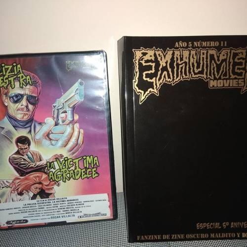"""Presentación Exhumed Movies (Vº aniversario)+Proyección """"La polizia secuestra"""""""