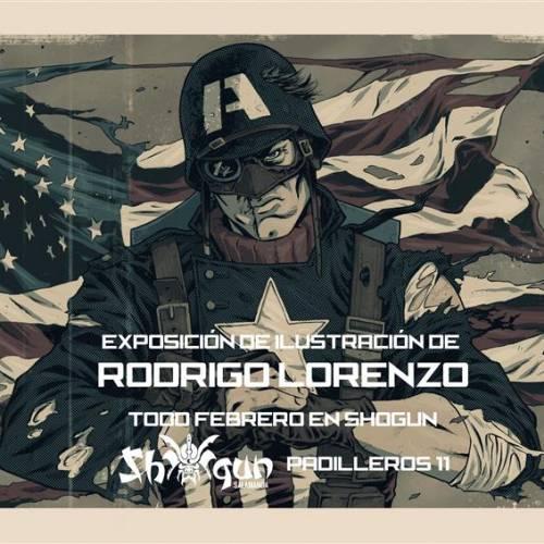 Exposición de ilustraciones de Rodrigo Lorenzo