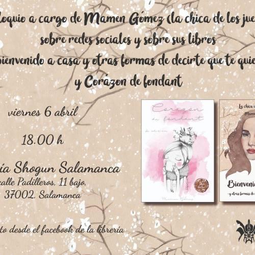 Coloquio y presentación de los libros de Mamen Gómez