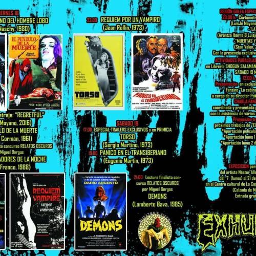Fanzine La cabina de Nemo 3 con Exhumed Movies ZINE