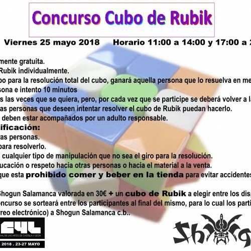 Concurso Cubo de RUBIK