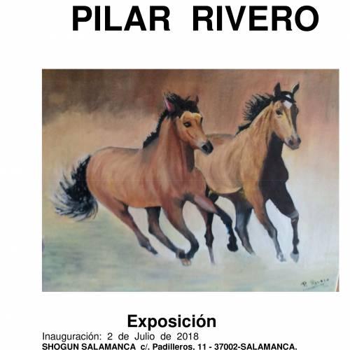 Exposición y venta de la obra de Pilar Rivero