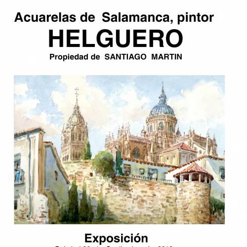 Exposición y venta de acuarelas de Salamanca
