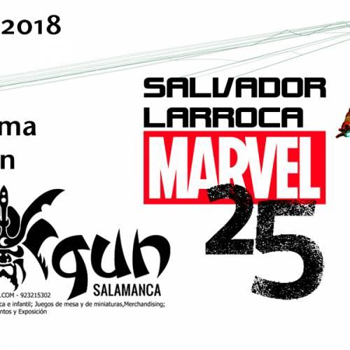 Firma de Salvador Larroca en Shogun Salamanca