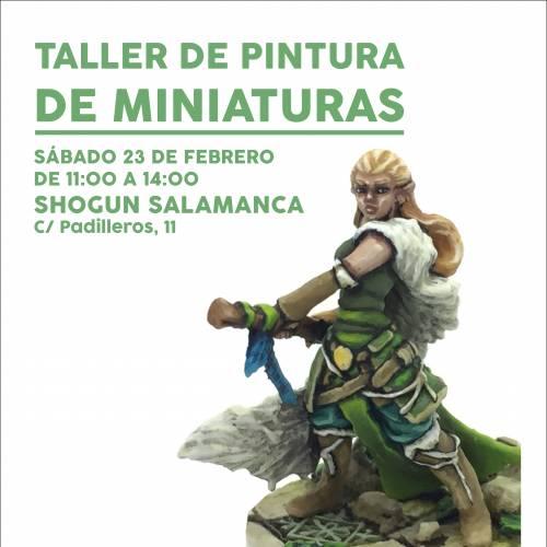 Taller de pintura de miniaturas