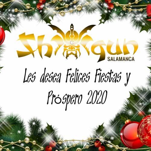 Felices fiestas y próspero 2020