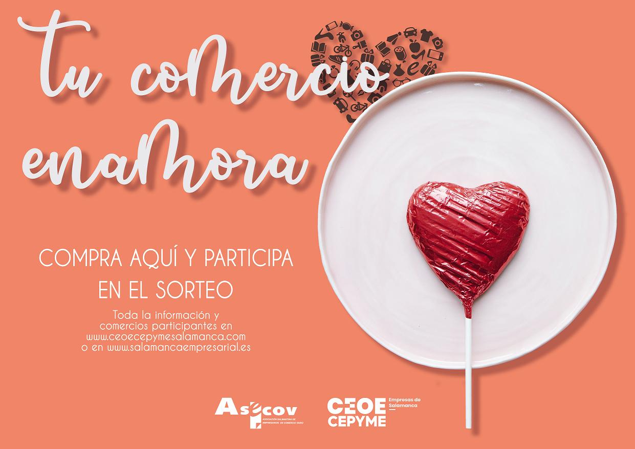 Ganadores del concurso de San Valentin «Tu comercio enamora» en Shogun Salamanca